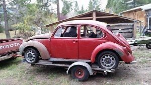 Volkswagen Beetle 1971 part out or whole British Columbia