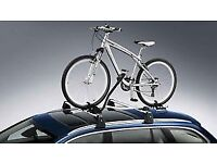VW - Original Volkswagen Roof Bars - Bike Rack - Roof bars not included, Brand New and Boxed
