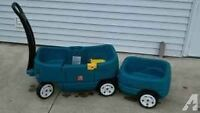 Little Tykes Wagon and caboose
