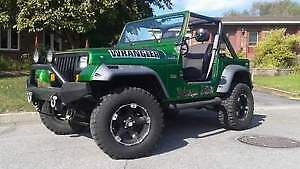 Jeep wrangler 1987 oldshcool dodge