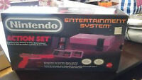 NINTENDO ACTION SET COMPLETE WITH THE ORIGINAL BOX