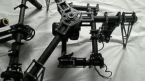 NEW CineStar MOVI Free Fly Brushless Gimbal hand held & copter