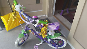 Disney Fairies 14 Inch Girls' Bicycle - Tinkerbell