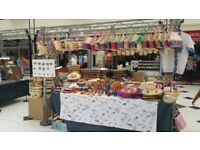 Handcrafts Market Stall at Uxbridge Pavilions. 100% ECO-friendly wooden, Palm leaf and reed products