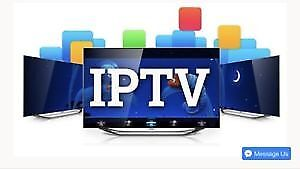 android IPTV box +one month subscription