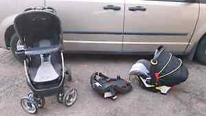 Eddie Bauer Stroller Full Package with lots of other essentials.