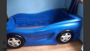 Little Tykes Toddler Car Bed - Blue