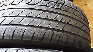 TWO MICHELIN PRIMACY 205 55 R 16'' SUMMER RADIALS