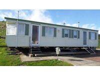 3 Bedroom Static caravan for rent at Peterhead Lido Caravan Park