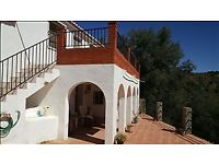 Traditional Andalucian Farmhouse in Comares Costa del Sol. Sleeps 6