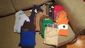 LARGE LOT of Brand a Name Baby Boy Clothing Size 12-18 Months