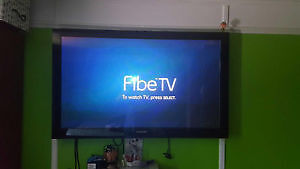 **FINAL PRICE DROP! SAMSUNG 50' TV $300 FIRM! BRACKET INCLUDED**