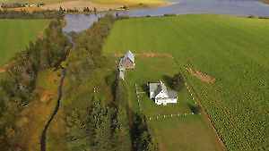 Stately Country Property on Five Acres With Beautiful Old Barn