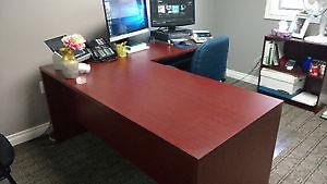 $200 OBO Sturdy Corner Office Desk