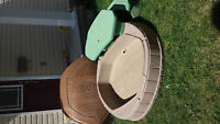 Step 2 Picnic Table with sandbox (wit lid)