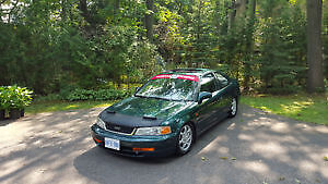 1999 Honda si Coupe no rust lots of mods