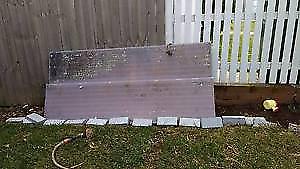 Free scrap metal awning