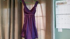 le chateau purple dress