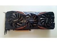 GIGABYTE NVIDIA GeForce GTX 1080 G1 GAMING-Black