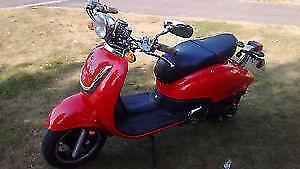 Scooter rétro 49cc