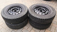 4x Dunlop Graspic DS1 215/70R15 snow tires+rims (Price reduced)