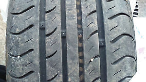 8 summer tires with 4 rims. 195/60/15 Rims are from Ford focus.