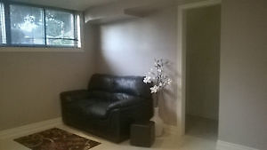 2 BED ROOM BASEMENT APARTMENT (CLEAN W LARGE WINDOWS)