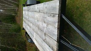 6x20 Flatbed Utility Trailer