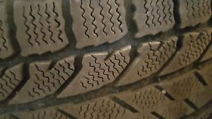 WINTERS TIRES WITH RIMS FOR SALE ( 245x65 R17)