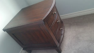 2 Wood Side Tables with Drawers London Ontario image 5