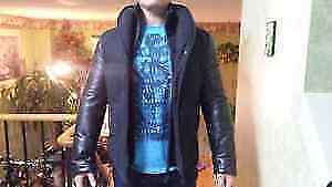 10/10 CCondition Mackage Wool & Leather Coat