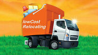 LOWCOST RELOCATERS,RELIABLE REASONABLE MOVERS,STARTING $60/HR
