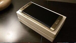 LNIB Unlocked Samsung Galaxy S6 Edge 64gb gold + wireless chgr
