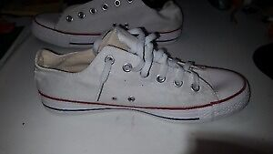 White Converse all Star used 1 day, Unisex Cheap