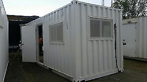 Shipping Container Modification - Office / Home / Shop / Studio