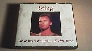 Sting-We've Been Waiting All this Time-2 cd/Italian import cd +