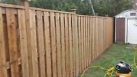 QUALITY  FENCE ,SHED , DECK BUILDERS & WE ALSO DIG POST HOLES