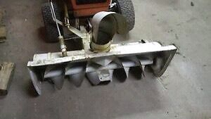 Wanted simplicity,Allis Chalmers .snowblower