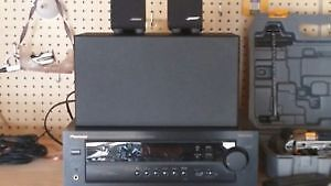 PIONEER AMP/TUNER & BOSE SPEAKERS WITH SUBWOOFER