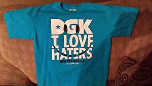 "DGK ""I Love Haters"" Motivation Youth L shirt. Worn once."