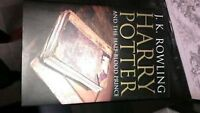 Harry potter and the half bood prince hard cover