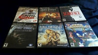 PS2 games for only 4$ each.