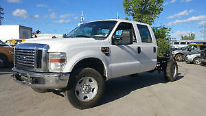FORD F350 XL SUPER CREW,DIESEL,BAS MILLAGE !!!