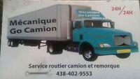 Mécanicien camions & remorque