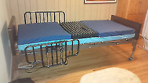 Hospital BED WITH ROHO - INSERT+Pump call 647-781-8987