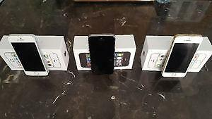 iPhone 5S 32GB & 64GB NEW CONDITION IN BOX WITH NEW ACCESSORIES 90 DAYS WARRANTY INCLUDED