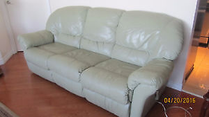 Sofa and Love seat (Reclining) Genuine Leather