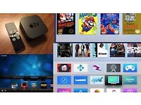 Apple TV 4 with kodi & popcorn time installed