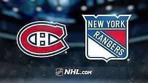4 billets match #5 canadiens montreal serie - 20 avril