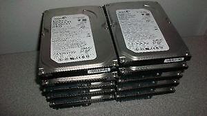Lot de 10 disques durs interne de 80gb pour desktop